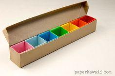 Origami Pill Box / O