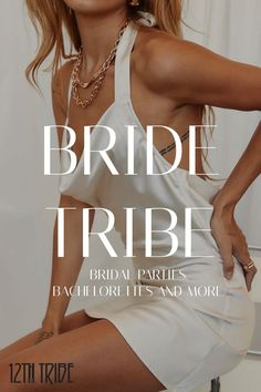 Big Look for a Big Day. Shop Bridal fits from your Tribe. Wedding Bells, Our Wedding, Dream Wedding, Wedding Ideas, Cute Gel Nails, Bride Accessories, Ladies Boutique, Happily Ever After, Maid Of Honor