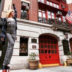 Smells like Spring!  Model: @emilytyra Photo Credit: @marissakaiser #parkerbluecashmere #fashion #newyork #spring #springtime #cashmere #parkerblue #newyorkcity #designer