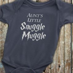 Harry Potter Baby Aunt Onesie Harry Potter by KennieBlossoms