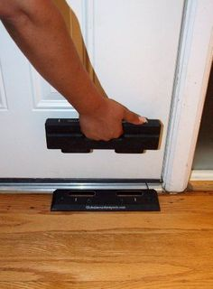 Security Door Brace / Door Brace. Stops Home Invasions & Burglars. The OnGARD Door Brace Withstands up to 1775 Lbs of Violent Force. Not a Nightlock Nitelock OnGARD http://www.amazon.com/dp/B0044EF1GQ/ref=cm_sw_r_pi_dp_v3F0tb0TERASCFRV