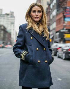 Sometimes the fastest way to get anywhere in the city that never sleeps is by foot, so Phill Taylor and I took to the streets of NYC to capture some great action shots after the Tommy Hilfiger show. To keep warm I'm wearing a great nautical inspired Tommy Hilfiger Varsity coat with Black Orchid flares. Hope everyone is keeping warm!