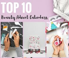 Modern makeup and beauty calendars that are put out by some of the top brands for a limited time?! Yes!