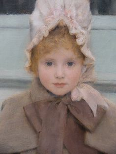 Portrait of Jeanne Kefer by Fernand Khnopff by ChicoLaura1, via Flickr 1858-1921