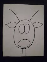 Directed drawing Great for listening and following directions. ARTventurous: Reindeer Portraits