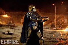 Empire Reveals New Image of Captain Phasma | The Star Wars Underworld