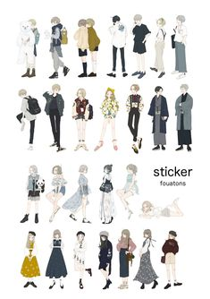 Character Outfits, Character Art, Character Design, Boy Fashion, Fashion Art, Korean Fashion, How To Draw Shirts, People Illustration, Fashion Design Drawings