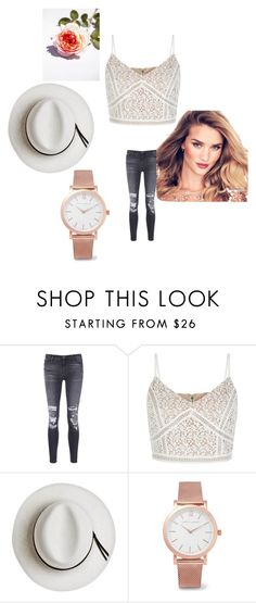 """""""Untitled #75"""" by mirelazenunovic ❤ liked on Polyvore featuring J Brand, New Look, Calypso Private Label and Larsson & Jennings"""