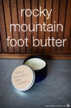 """Kristin wrote me with the most lovely sounding recipe request—she was looking for a """"rich, tingly foot butter that smells like a pine tree"""". Mmmm. As a lover of all things forest scented, I absolutely had to make this awesome … Continue reading →"""