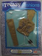 VINTAGE BOXED 1970s PALITOY TRESSY FASHIONS DOLL OUTFIT CLOTHES JACKET TROUSERS