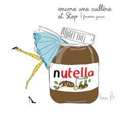 Nutella illustration Isma b
