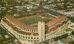 Wrigley Field, Los Angeles.  Home of the Los Angeles Angels of the Pacific Coast League.