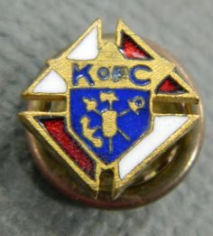 Knights of Columbus Tiny Vintage Enamel by QueeniesCollectibles, $4.99