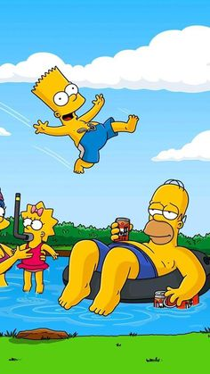 the simpsons gifts Wallpapers Games, Cute Wallpapers, Wallpaper Backgrounds, Simpson Wallpaper Iphone, Cartoon Wallpaper, Most Popular Cartoons, Simpsons Art, Free Cartoons, Cartoon Characters