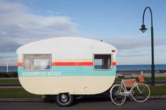 Visit the Country Road retro caravan in Melbourne's South Yarra  The Interiors Addict blog