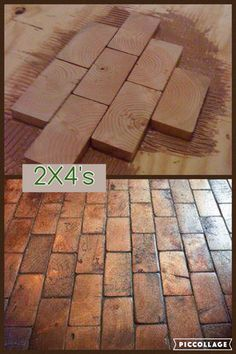 Less expensive flooring option – Woodworking Wood Block Flooring, End Grain Flooring, Diy Flooring, Bedroom Flooring, Flooring Options, Transition Flooring, Sunroom, Home Projects, Home Remodeling