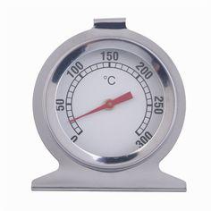 2016 Marca Nueva Cocina de Horno de Acero Inoxidable Termómetro Medidor de Temperatura
