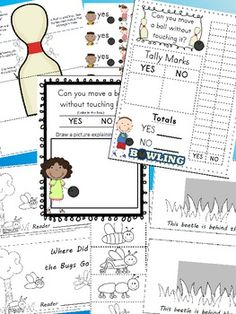 FORCE AND MOTION KINDERGARTEN BUNDLE OF ACTIVITIES (9 ACTIVITIES TOTAL) - TeachersPayTeachers.com