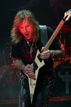 Glenn Tipton from Judas Priest. One of my favorites Guitar player.