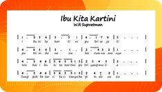 Ibu Kita Kartini - Chord - Lirik Lagu dan Video Terlengkap   Betantt.com Dan
