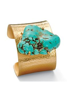 PalmBeach Jewelry Turquoise Nugget...     $39.00