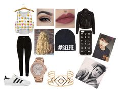 """""""Going to a kian lawley and jc caylen meet and greet"""" by lovinglife56 on Polyvore featuring adidas, Michael Kors, Stella & Dot and J.Crew"""