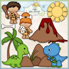 Dinosaur Days 1 - NE Kristi W. Designs Clip Art : Digi Web Studio, Clip Art, Printable Crafts Digital Scrapbooking!