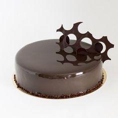 Суперблестящая зеркальная глазурь из какао