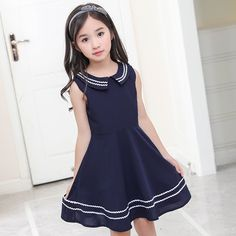 2575874d830d Elegant little girls dresses summer 2018 big girl dress teenage clothing  kids dresses size for 3 4 5 6 7 8 9 10 11 12 years - aliexpress.com