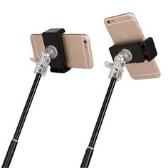 Selfie Stick - FREE Mini Tripod - Best 3 in 1 Monopod - For iPhone, Samsung, Android SmartPhones - Vertical & Horizontal (360º) - Bluetooth Remote for iOS and Android - Perfect for Periscope & Blab Little Blinks http://www.amazon.com/dp/B018CXJ7Q4/ref=cm_sw_r_pi_dp_DRZxwb0Z8KPWP