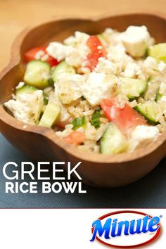 Greek Rice Bowl Minute Rice
