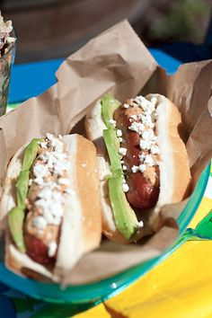The Cooking Photographer: Avocado Chipotle Dogs with Cotija Cheese (I'm not sure what Chipotle is)