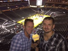 Our president Nick Aspromonte just came back from the trip of a lifetime! Here's Nick (right) with his mentor Michael (left) at the Lakers game! P.S. Stay tuned for the article detailing the incredible trip from start to finish! #aspromontemarketing #management #entrepreneurship #lakers #losangeles #travel  | http://aspromontemarketing.com