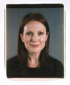 Julianne Moore Polaroid