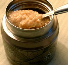 Apple Pie Slow Cooker Oatmeal - 3PP (3 srv) before sweetener is added