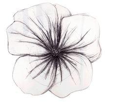 Flower sketch   Illustration and Imagination   Pinterest   Flower ...