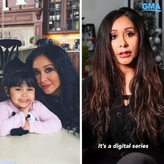 """You may know Nicole """"Snooki"""" Polizzi from her days on MTV's """"Jersey Shore,"""" but this soon-to-be """"mawma"""" of three is starting a new chapter. Snooki And Jwoww, Nicole Snooki, Rainbow Desserts, Disney Desserts, Family Humor, Dancing With The Stars, New Chapter, Celebs, Celebrities"""