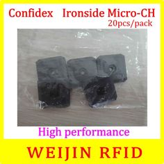 106.00$  Buy now - http://ali9lg.worldwells.pw/go.php?t=32687184787 - UHF RFID metal tag 915MHz EPC C1G2 ISO18000-6C Confidex Ironside micro 20pcs per pack Impinj Monza 4QT free shipping
