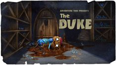 Adventure Time Title Card The Duke Adventure Time Season 1, Adventure Time Wiki, Adventure Time Episodes, Marceline, Adventure Time Background, Art Of The Title, Pendleton Ward, Land Of Ooo, Duke