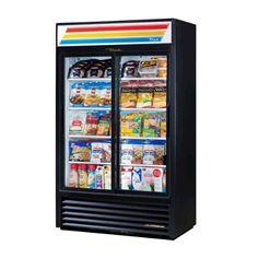 """á á á á á #True 47"""" Slide Glass Door Merchandiser Refrigerator 78"""" HeightModel: GDM-41SLThe worldÆs #1 manufacturer of glass door merchandisers. Oversized, factor..."""