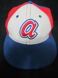 New Era 59 Fifty Atlanta Braves Fitted Hat , size 7 1/4 - Baseball-MLB