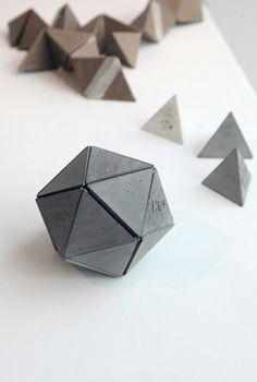 Concrete platonic solid