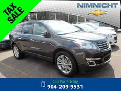 2015 Chevrolet Chevy Traverse LT w/1LT Call for Price  miles 904-209-9531 Transmission: Automatic  #Chevrolet #Traverse #used #cars #NimnichtChevrolet #Jacksonville #FL #tapcars