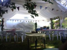 Extend your home with a Gala Tent marquee for a beautiful garden party
