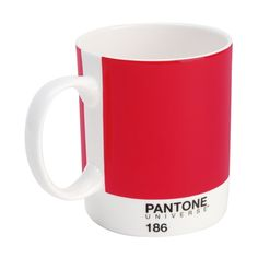 Pantonen punainen muki.