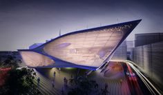 Daegu Library Competition Entry Synthesis Design + Architecture