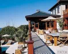 Cindy Crawford's Malibu beach house