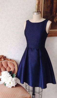 simply homecoming dresses, short navy blue homecoming dress, 2017 short navy homecoming dress
