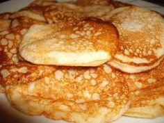 Lievance ako obláčik (fotorecept) - obrázok 2 Pancakes, Food And Drink, Breakfast, Morning Coffee, Pancake, Crepes