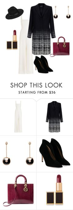 """""""👜"""" by mrs-alsalamah ❤ liked on Polyvore featuring Zimmermann, Raoul, Cartier, Gianvito Rossi, Christian Dior, Tom Ford and Lack of Color"""